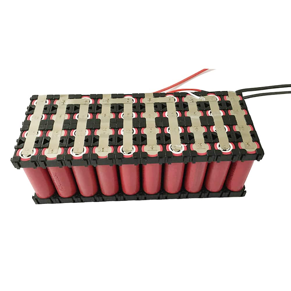 hot sell 36V 4.4Ah 10S2P 18650 rechargeable lithium ion battery